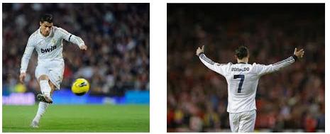 Tendangan Bebas Cristiano Ronaldo